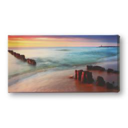 "Thumbnail for Canvas Wrap - 12"" x 24"" with Coloured & Picture Wrap design 1"